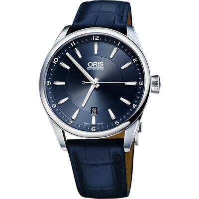 Oris Artix Blue 日期機械腕錶~藍 42mm