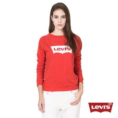 經典大學棉TEE-Logo-Levis