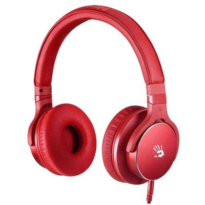 A4雙飛燕 Bloody M510 魔磁雙震膜高音質音樂耳機 (紅)