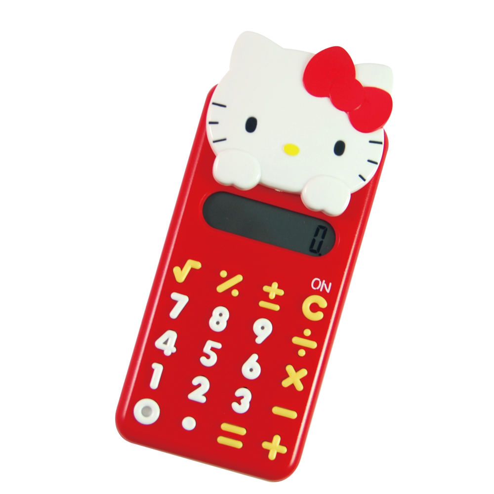 HELLO KITTY頭型滑蓋計算機 KT-2183
