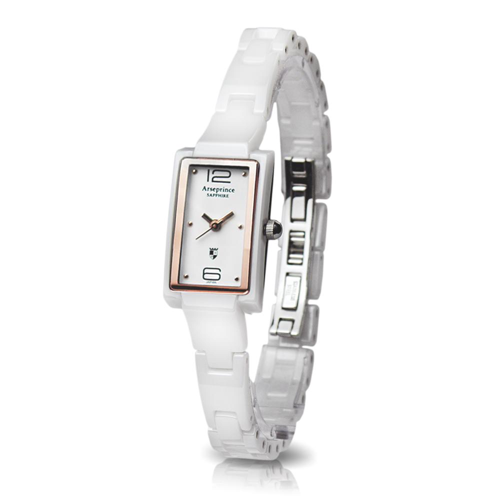 Arseprince 極簡風格態度女錶-白香檳金/30mm