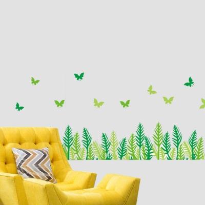 B-069花草系列-春天世界 大尺寸高級創意壁貼 / 牆貼