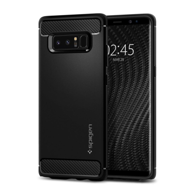 Spigen Galaxy Note 8 Rugged Armor-彈性防震保護...