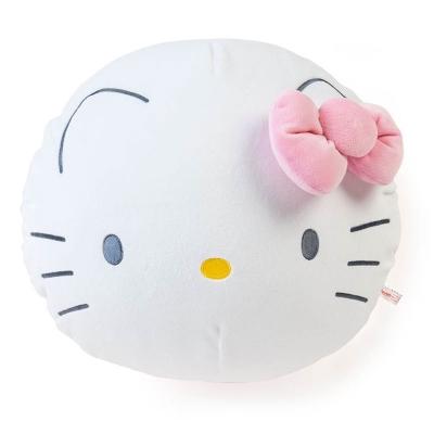Sanrio HELLO KITTY大臉造型mochi圓型靠墊