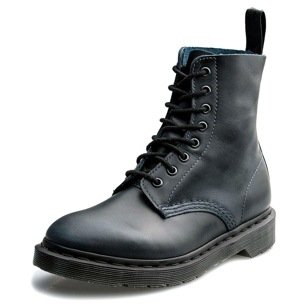 Dr.Martens PASCAL-8孔馬汀馬丁靴-男款-深藍色