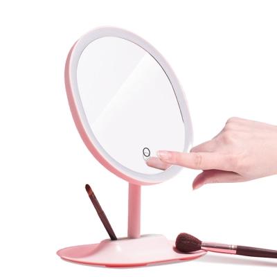輕智能 1:1臉型化妝鏡 LED柔光補妝鏡