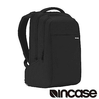 INCASE ICON Backpack 15吋 雙層筆電後背包 (黑)