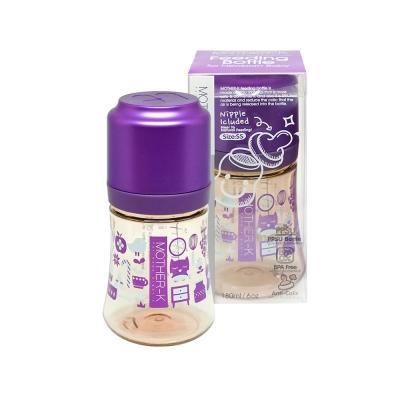 韓國MOTHER-K PPSU奶瓶180ml紫(附奶嘴)-奶瓶180ml