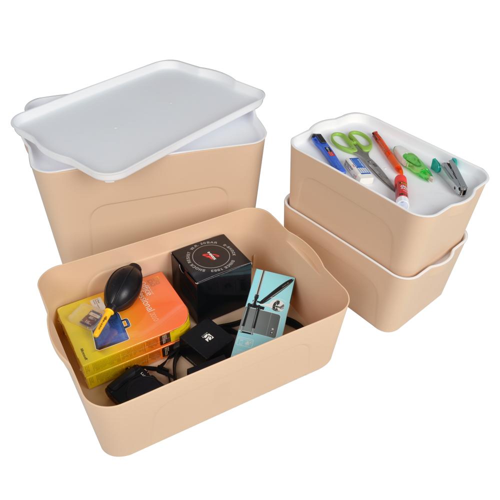 LIFECODE 可疊式衣物收納箱 (4件套)