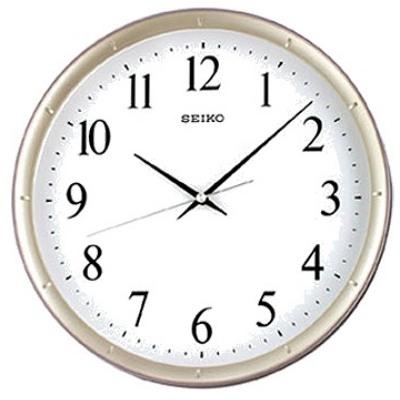SEIKO 精工紫羅蘭邊框 恆動式秒針 靜音掛鐘-31cm