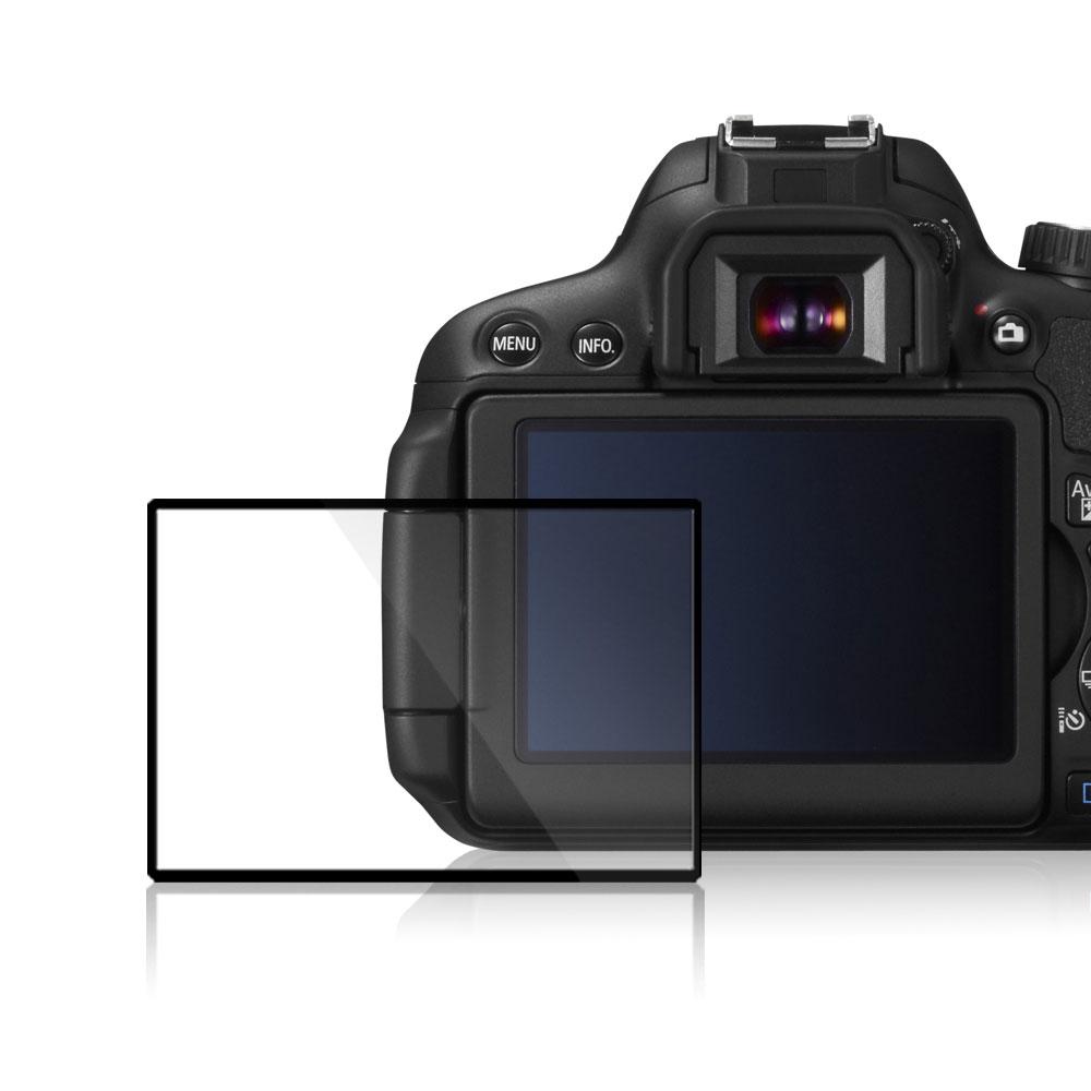 GGS第四代LARMOR金鋼防爆玻璃靜電吸附相機保護貼-CANON EOS-650D專用