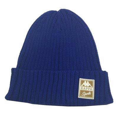 KAPPA 時尚運動限量版毛線帽 寶藍