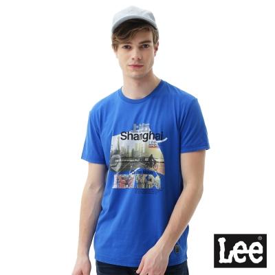 Lee 城市短袖T恤(Amsterdam)/UR-男款-藍