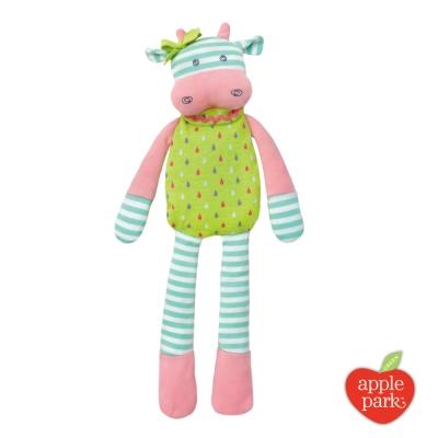 美國 Apple Park 農場好朋友系列 有機棉安撫玩偶 - 貝兒乳牛
