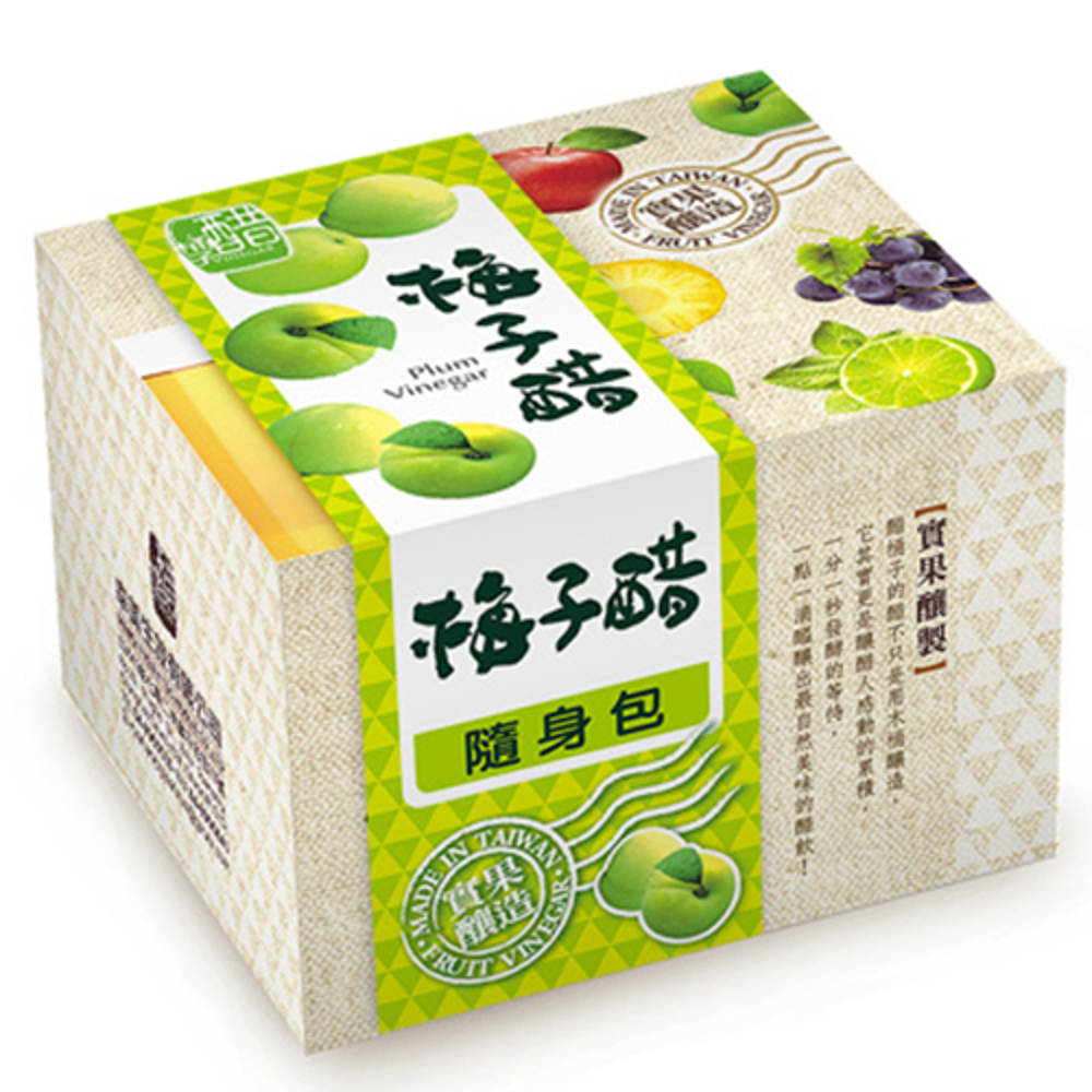 醋桶子 果醋隨身包-梅子醋(10入/盒)