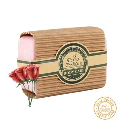 【Paris fragrance巴黎香氛】玫瑰精油手工皂150g