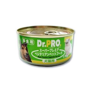 Dr.PRO《犬貓素食罐頭》170g (48罐組)