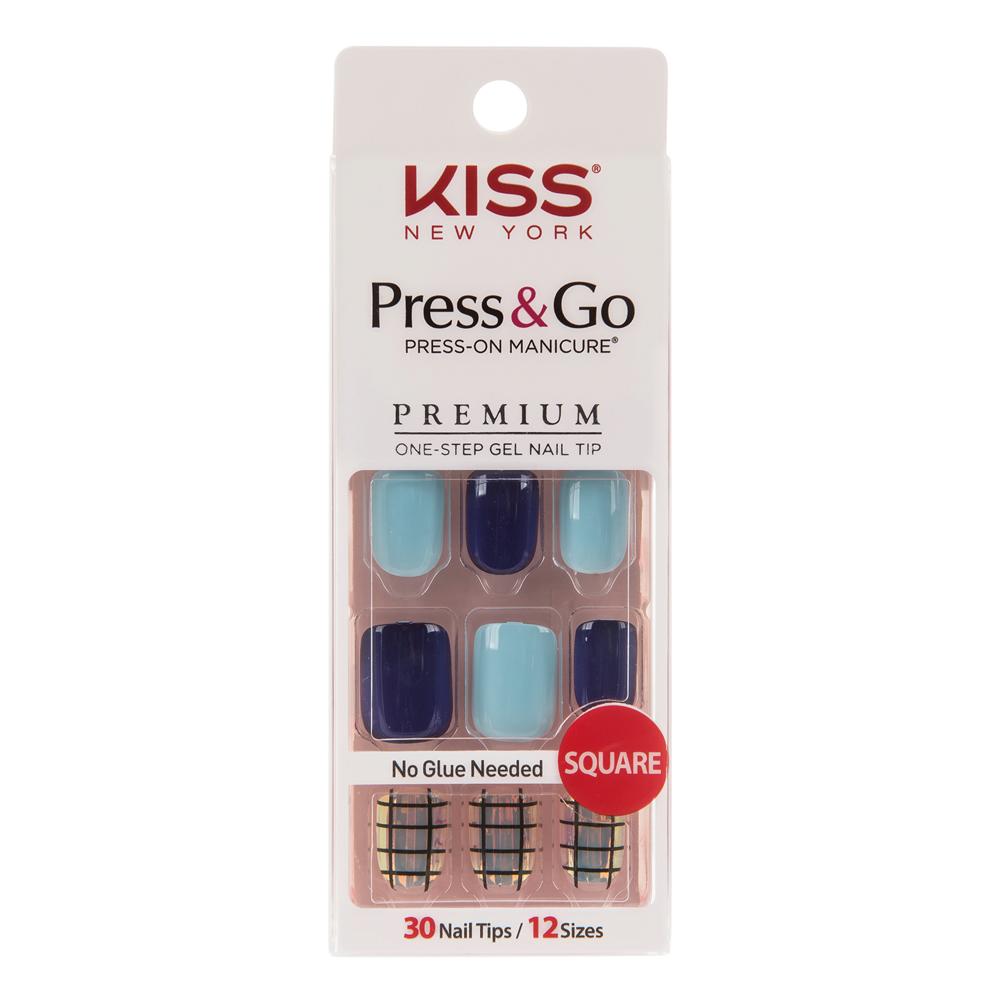美國 KISS New York-指甲貼片(PPS04K推理的女王)