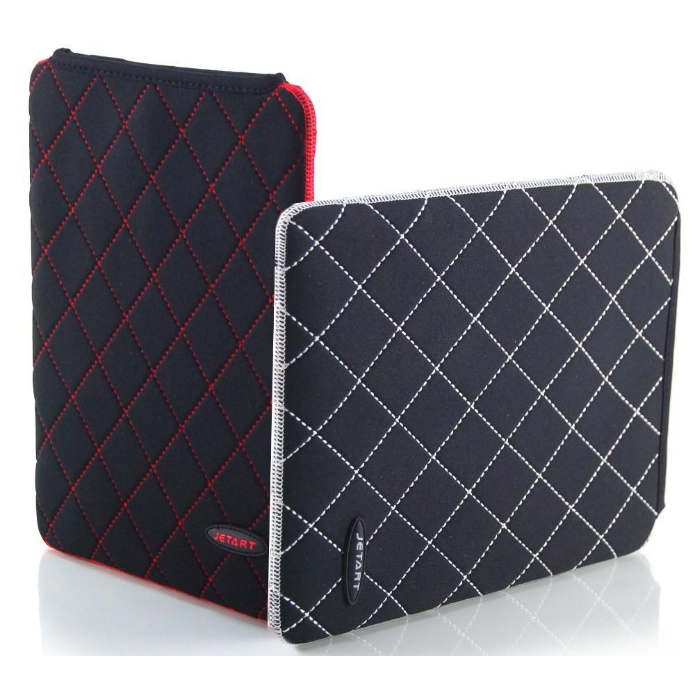 Jetart 捷藝 iPAL 菱格紋 iPad2/平板電腦防撞保護袋