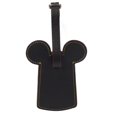 COACH Disney聯名Mickey造型行李吊牌(紅)
