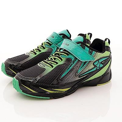 日本月星頂級童鞋 抓地衝刺運動鞋 EI226黑綠(中大童段)