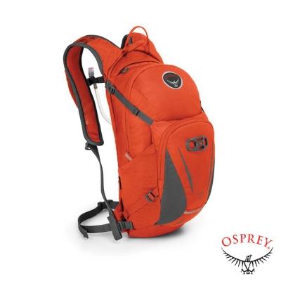 【美國 OSPREY】Viper 13L 多功能自行車水袋背包_火焰橘
