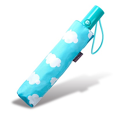RAINSTORY白雲天際抗UV加大降溫自動傘