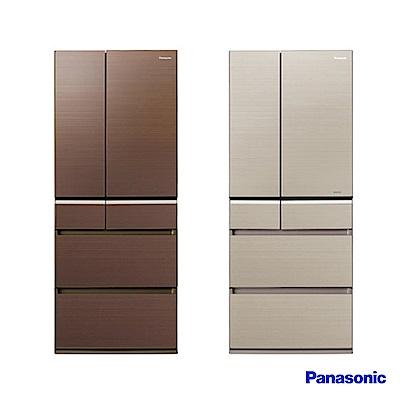 Panasonic 國際牌 608L日製六門 變頻電冰箱 NR-F611VG