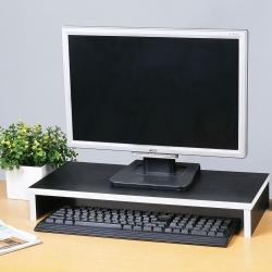 比爾桌上螢幕架-黑色-54x24x8cm