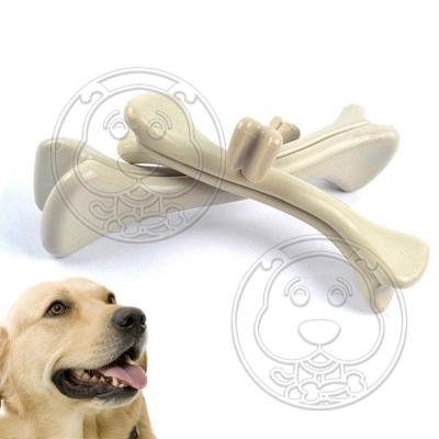 DYY》犬用磨牙耐咬PP樹脂骨頭玩具-L號