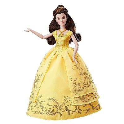 孩之寶Hasbro Disney迪士尼 公主經典角色組 美女與野獸電影版 貝兒豪華著裝組