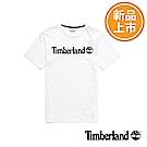 Timberland 男款白色品牌LOGO短T恤