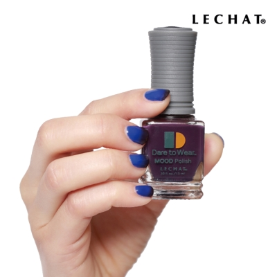 LECHAT 溫感變色指甲油-黑俄羅斯 DW43
