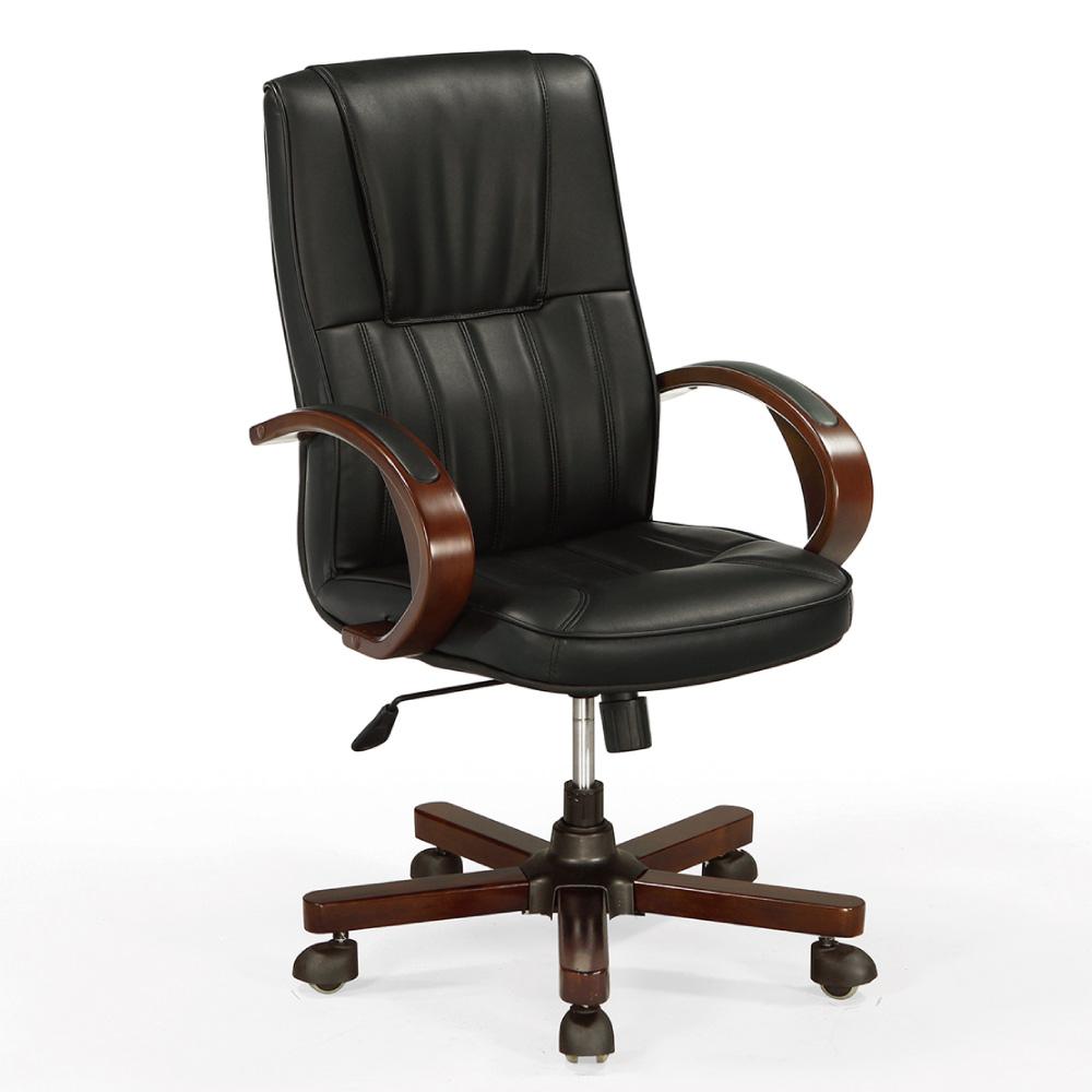 GD綠設家 洛貝森皮革多功能主管椅/辦公椅-64x73x103cm免組