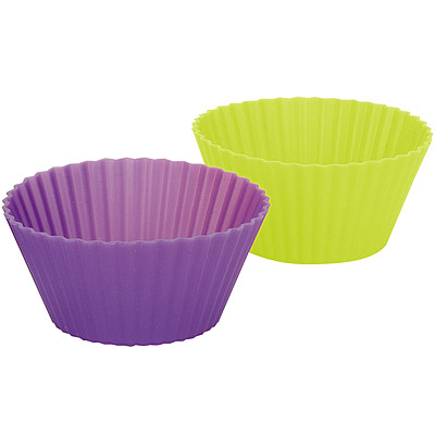 IBILI 雙色矽膠瑪芬烤杯6入(圓7cm)