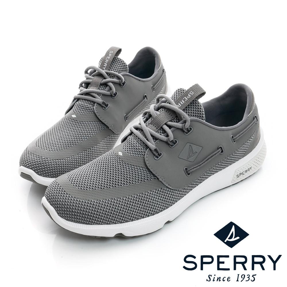 SPERRY 全新進化7SEAS全方位休閒鞋(男款)-灰