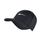 Nike FeatherLight Cap 黑 白 帽子