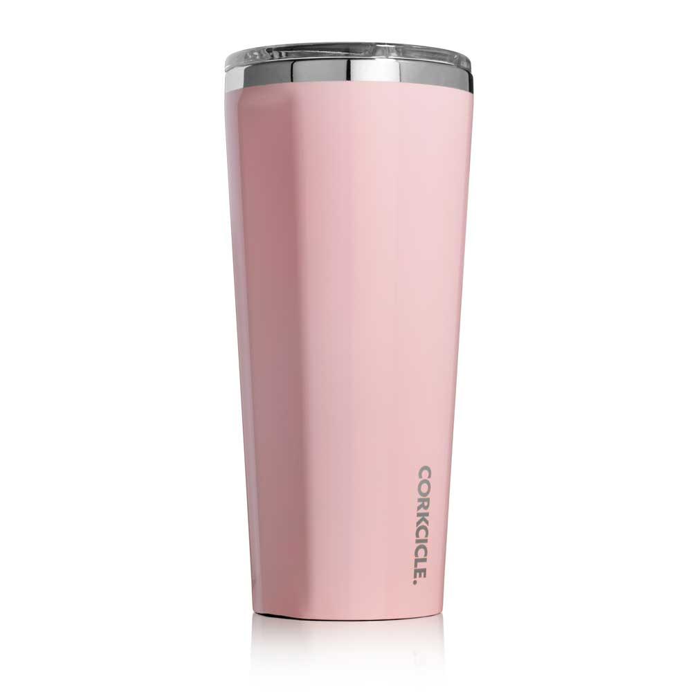 CORKCICLE三層真空寬口杯710ml-玫瑰石英粉