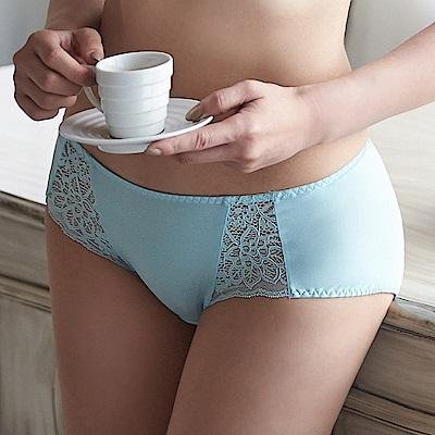 蕾黛絲-超值嚴選異國風情搭配平口內褲M-EL(天使藍)