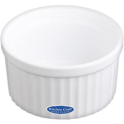 KitchenCraft 白瓷布丁烤杯(9cm)