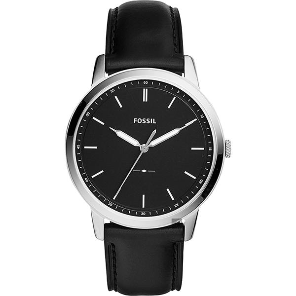 FOSSIL Minimalist 薄型簡約手錶(FS5398)-黑/44mm