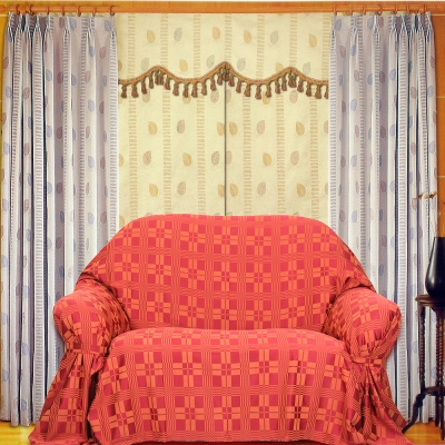 布安於室-方矩DIY1人座一片式沙發罩