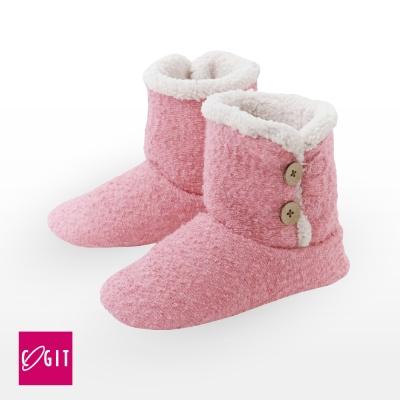 日本COGIT 2way毛絨室內保暖靴