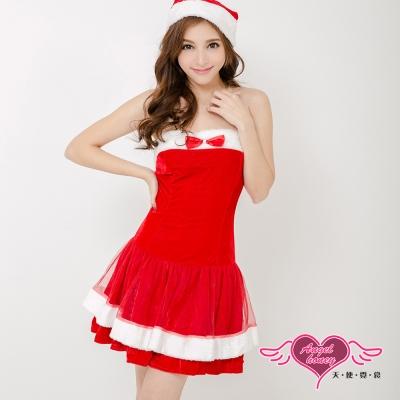 耶誕服 耀眼風格狂熱聖誕舞會角色服(紅F) AngelHoney天使霓裳