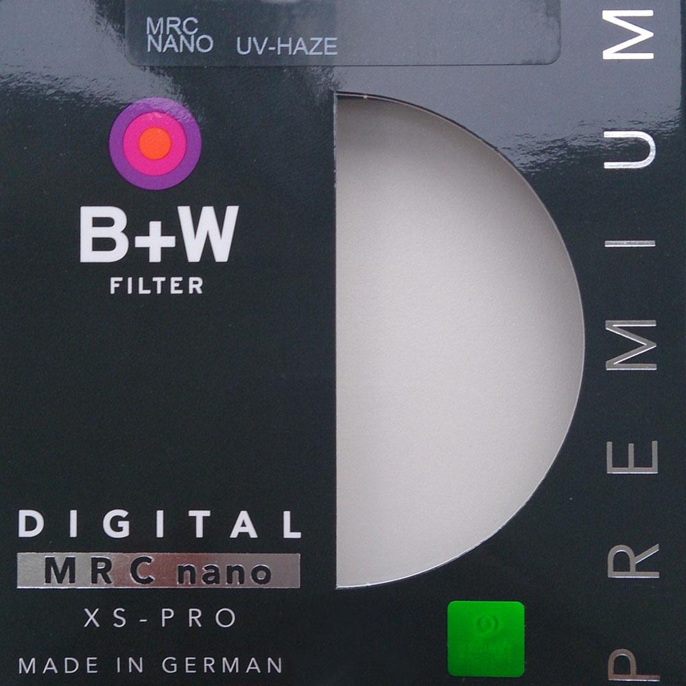 B+W 超薄奈米鍍膜UV-Haze保護鏡(72mm)