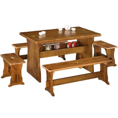Homelike-田園休閒桌椅組