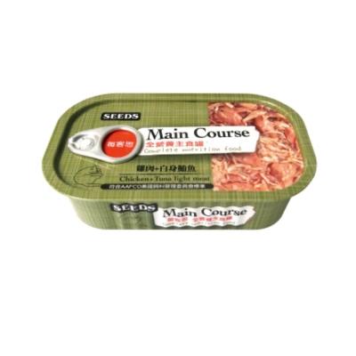 SEEDS每客思 全營養主食罐《雞肉+白身鮪魚》115g