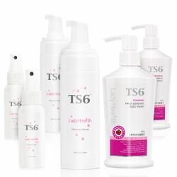 TS6護一生 潔淨重量粉霧組(果萃晶露250gX2+慕斯180x2+幸福粉霧40mlX2)