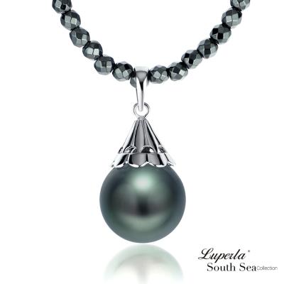 大東山珠寶 南洋大溪地黑珍珠項鍊 燦麗風華