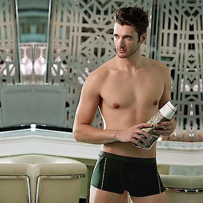 DAYNEER  時尚貼身系列-素面貼身四角褲(英倫綠)